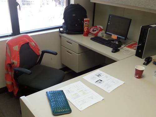 My study room.