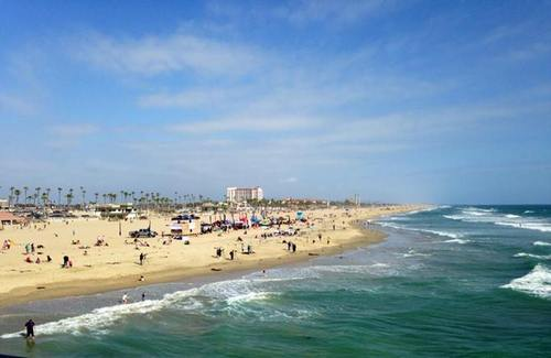 The view from the Huntington Pier!